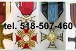 Kupię stare medale,odznaczenia,ordery