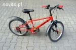 Rower górski dla dzieci MTB BTWIN RACINGBOY 320 koła 20 cali