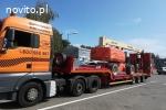 Transport maszyn 24 ton , pomoc drogowa, laweta Poznań